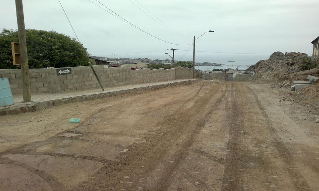 Servicio de pavimentación de camino Bacor